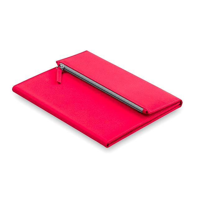 Patrix desky na dokumenty - červená