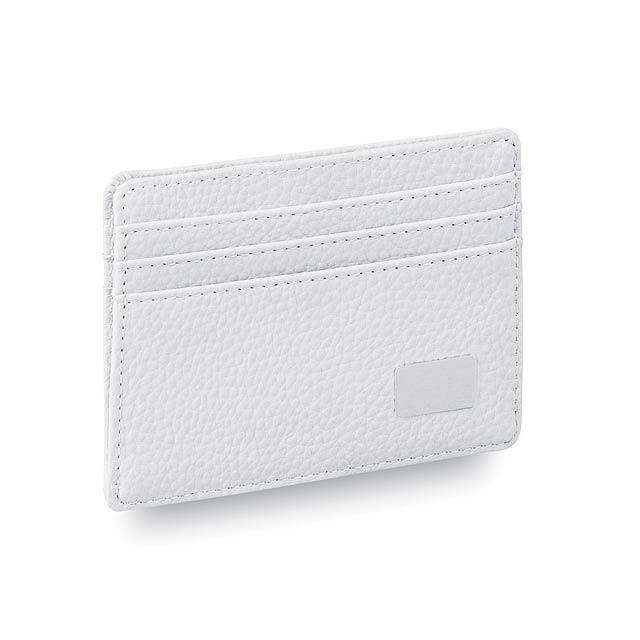 Daxu obal na kreditní karty - bílá