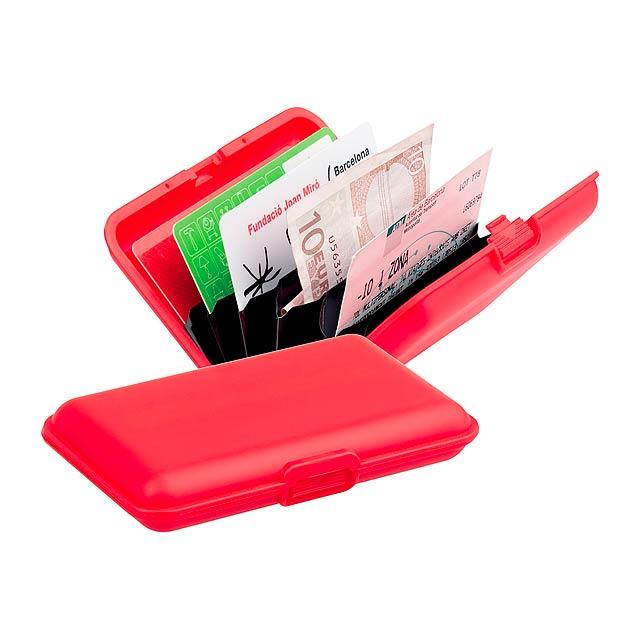 Terun obal na kreditní karty - červená
