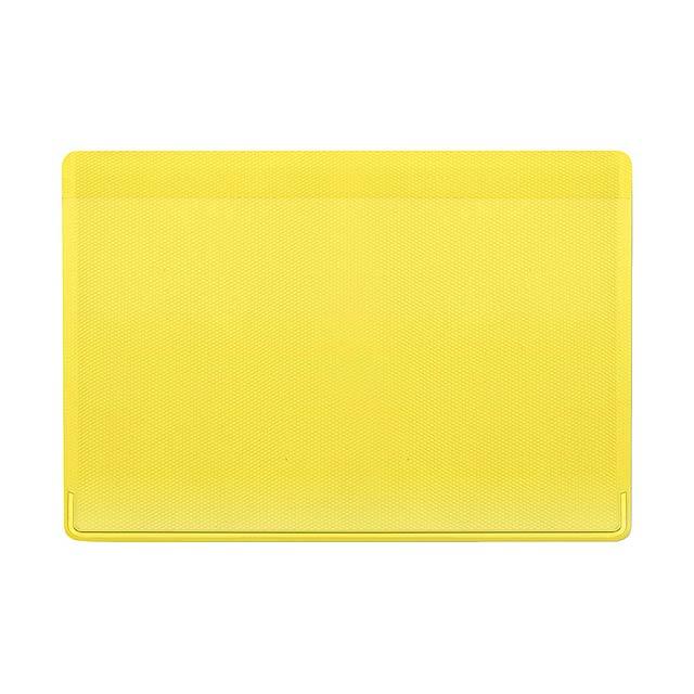 Kazak obal na kreditní karty - žlutá