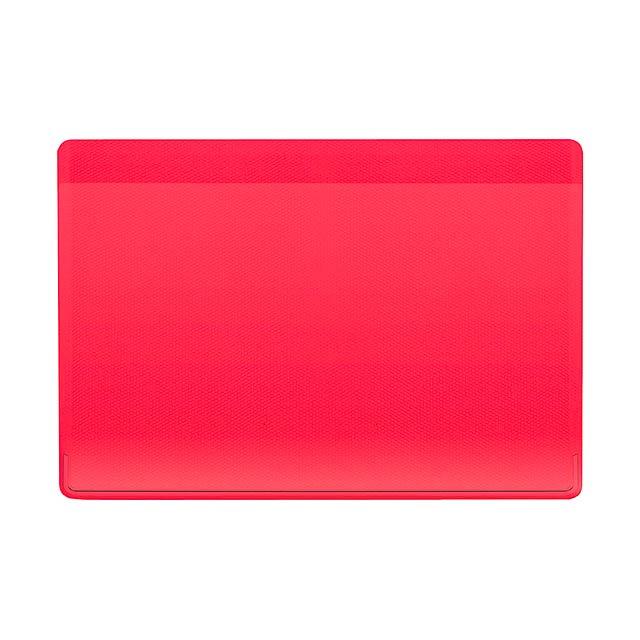 Kazak obal na kreditní karty - červená
