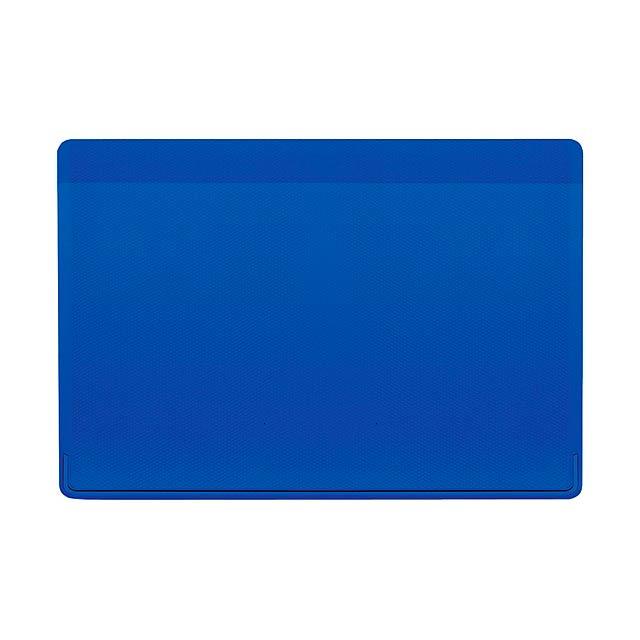 Kazak obal na kreditní karty - modrá