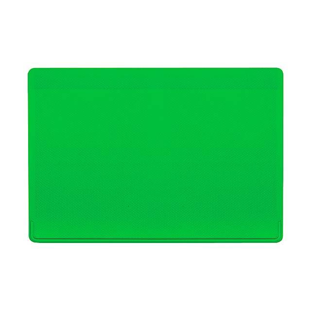 Kazak obal na kreditní karty - zelená