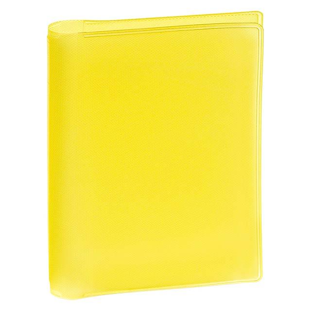 Letrix obal na kreditní karty - žlutá