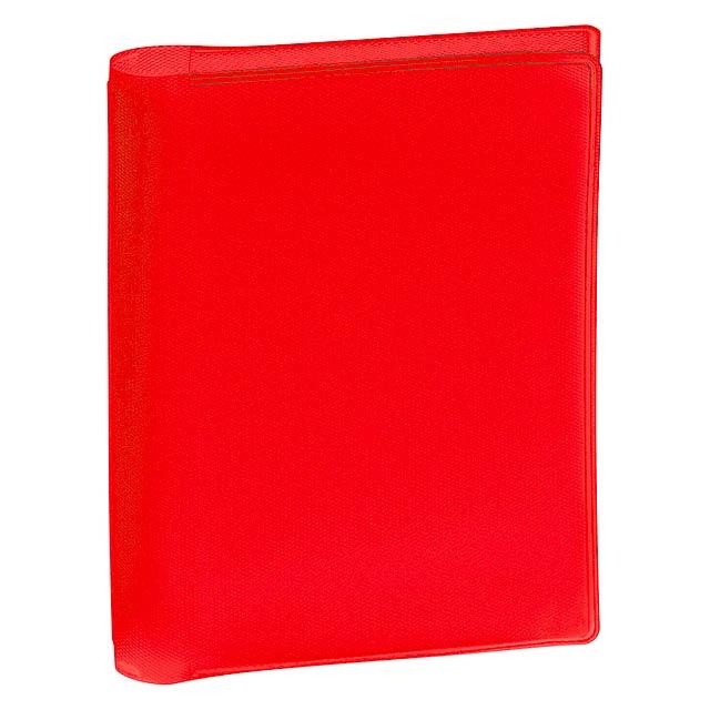 Letrix obal na kreditní karty - červená