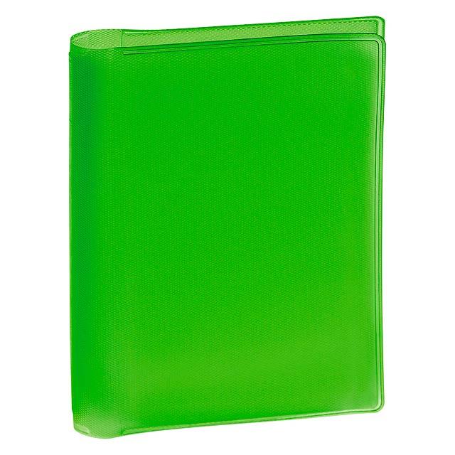 Letrix obal na kreditní karty - zelená
