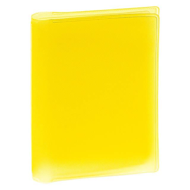 Mitux obal na kreditní karty - žlutá