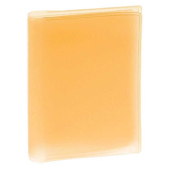 Mitux obal na kreditní karty - oranžová
