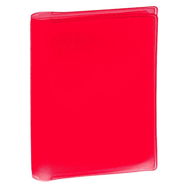 Mitux obal na kreditní karty - červená