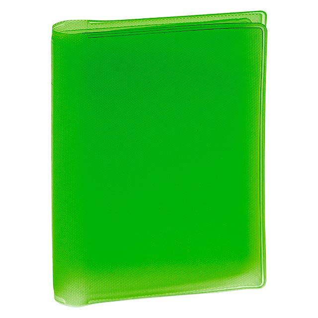 Mitux obal na kreditní karty - zelená