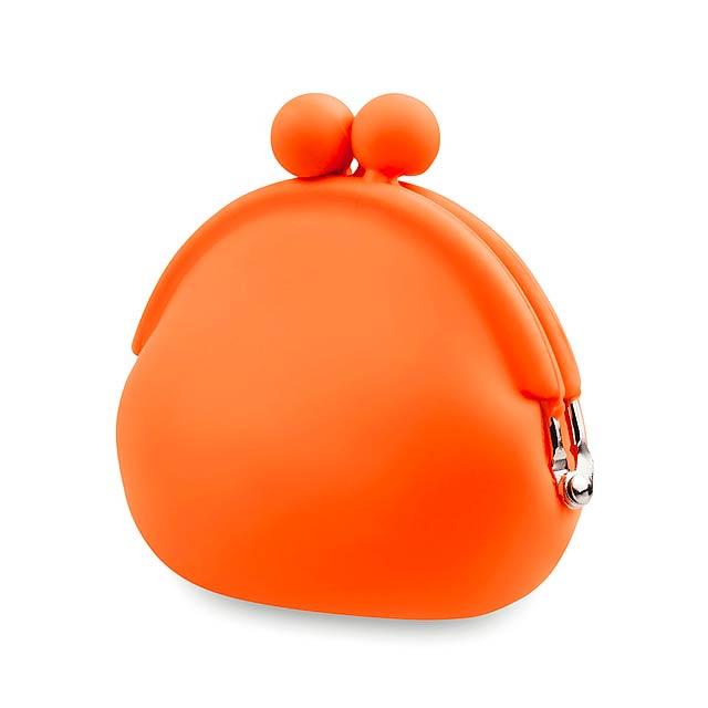 Babel peněženka na mince - oranžová