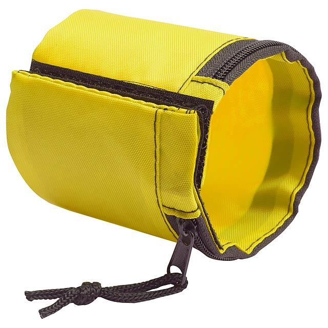 Benix peněženka na zápěstí - žlutá