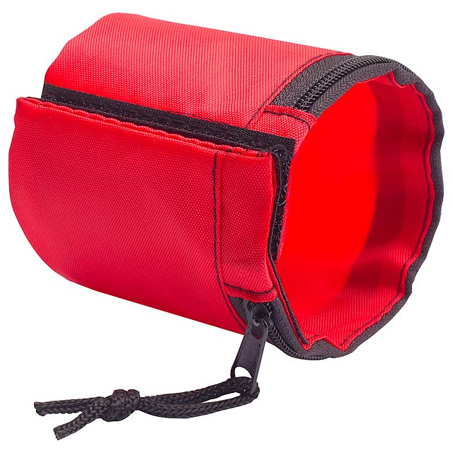 Benix peněženka na zápěstí - červená