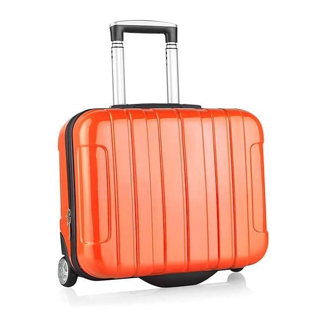 Sucan kufr na kolečkách - oranžová