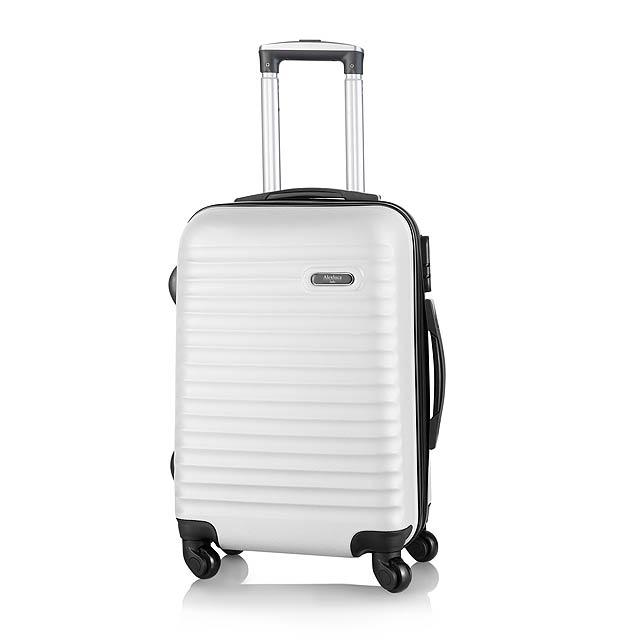 Rumax kufr na kolečkách - bílá
