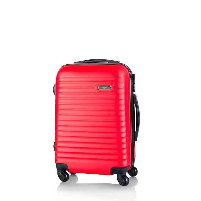 Rumax kufr na kolečkách - červená