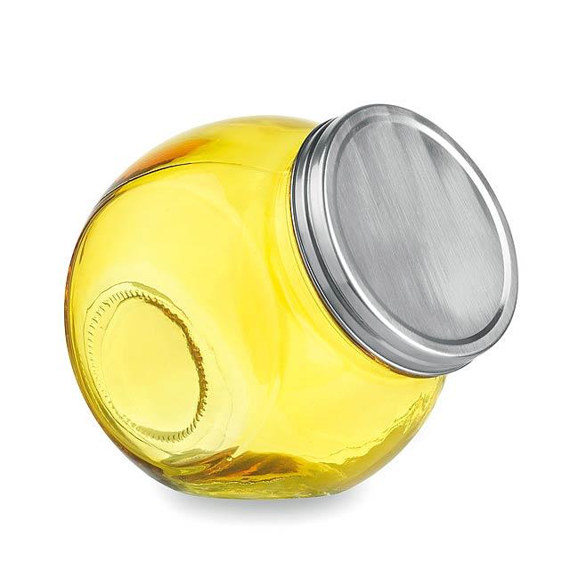 Hadar dóza - žlutá