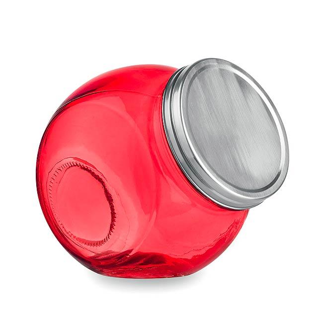 Hadar dóza - červená