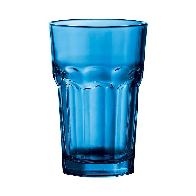 Kisla skleničky na pití - modrá