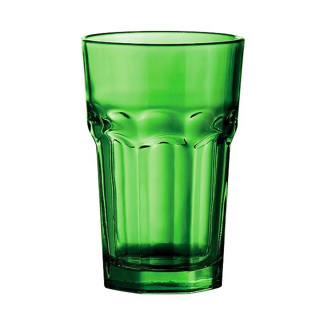 Kisla skleničky na pití - zelená