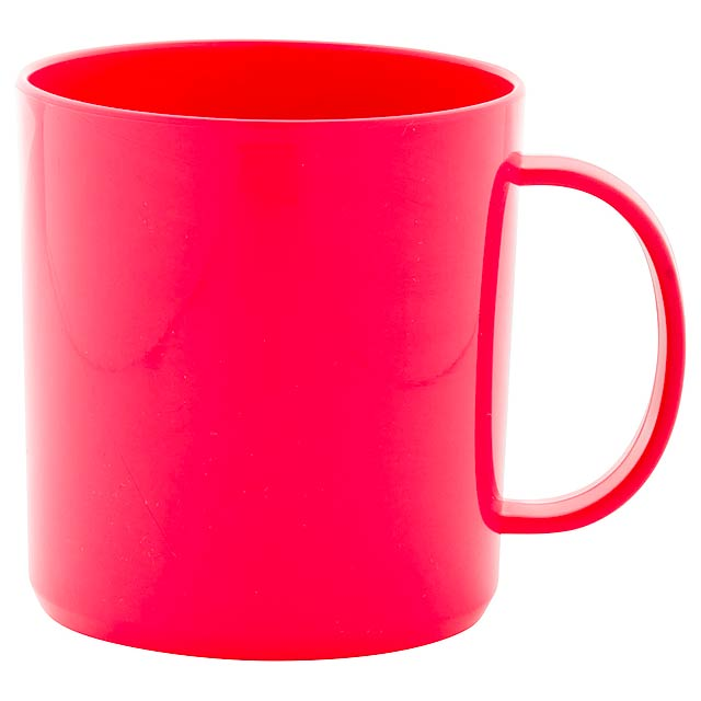 Witar hrnek - červená