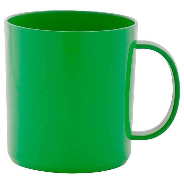 Witar hrnek - zelená