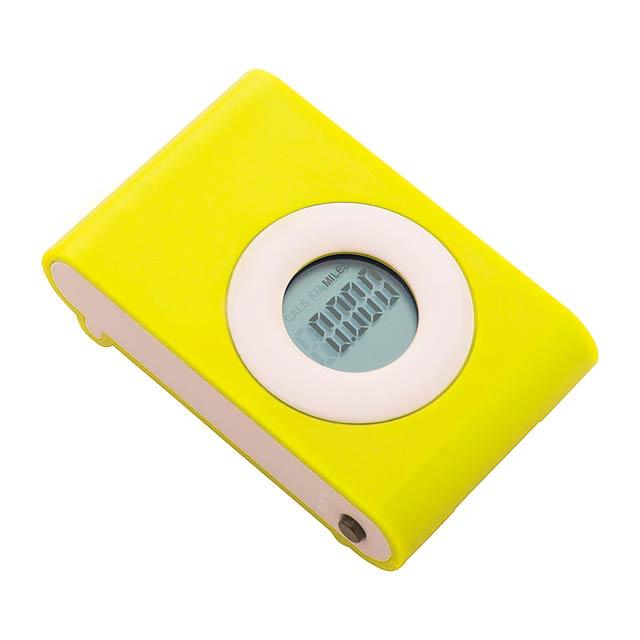 Pedometer - yellow