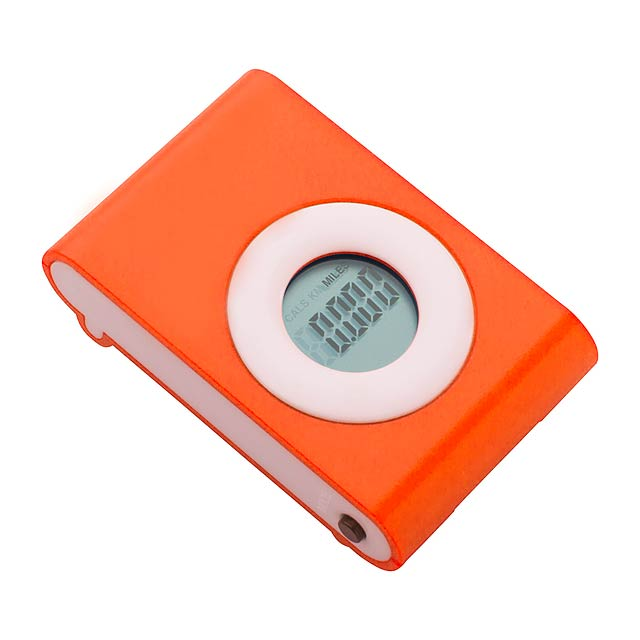 Pedometer - orange