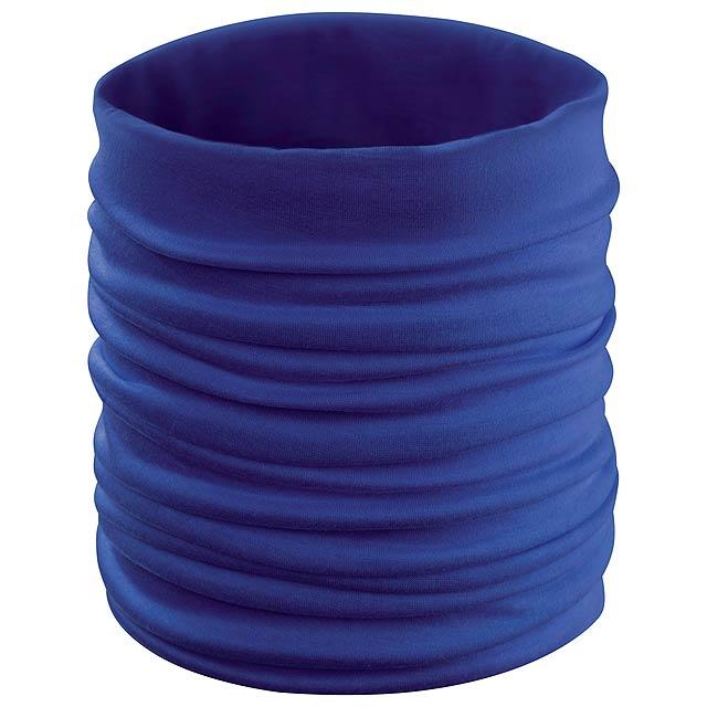 Cherin víceúčelový šátek - modrá