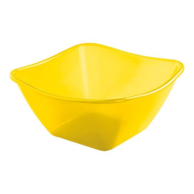 Belix salátová mísa - žlutá