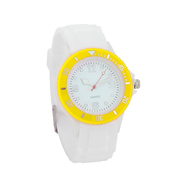 Hyspol unisex hodinky - žltá