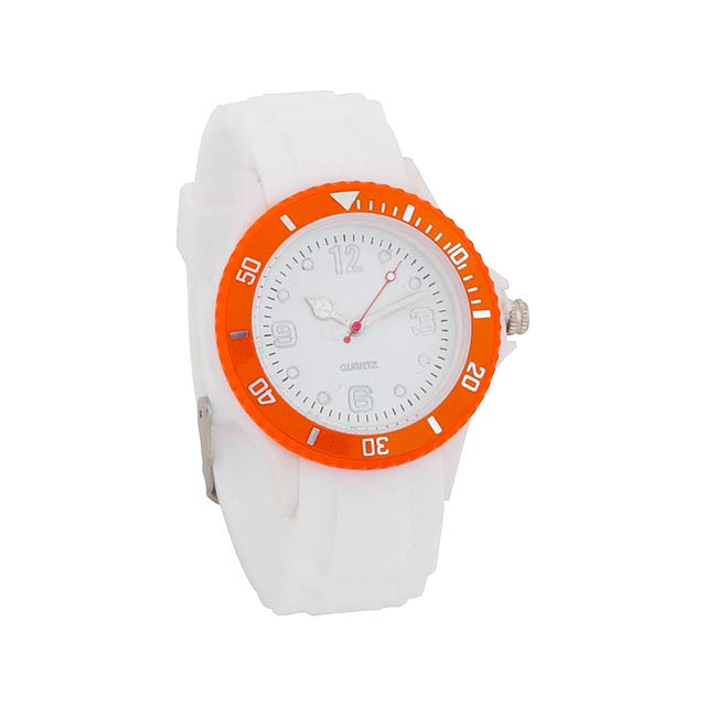 Hyspol unisex hodinky - oranžová