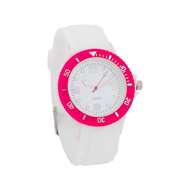 Hyspol unisex hodinky - fuchsiová (tm. ružová)