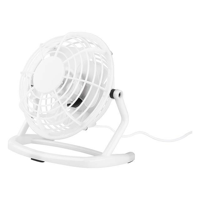 Miclox mini větrák - bílá