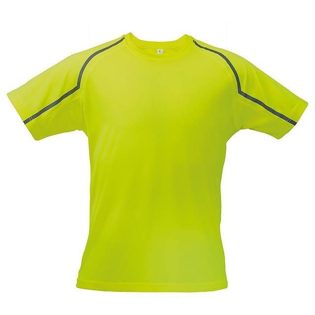 Fleser tričko - žlutá