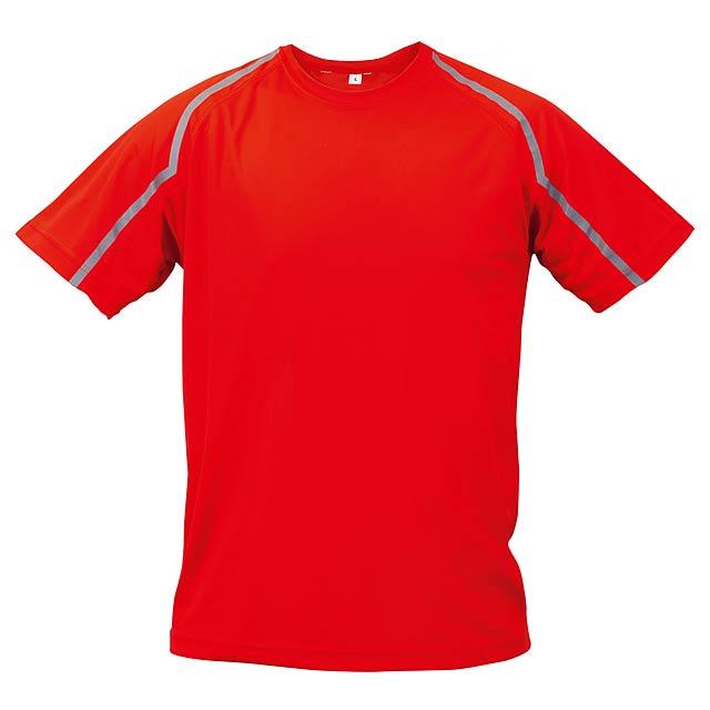 Fleser tričko - červená
