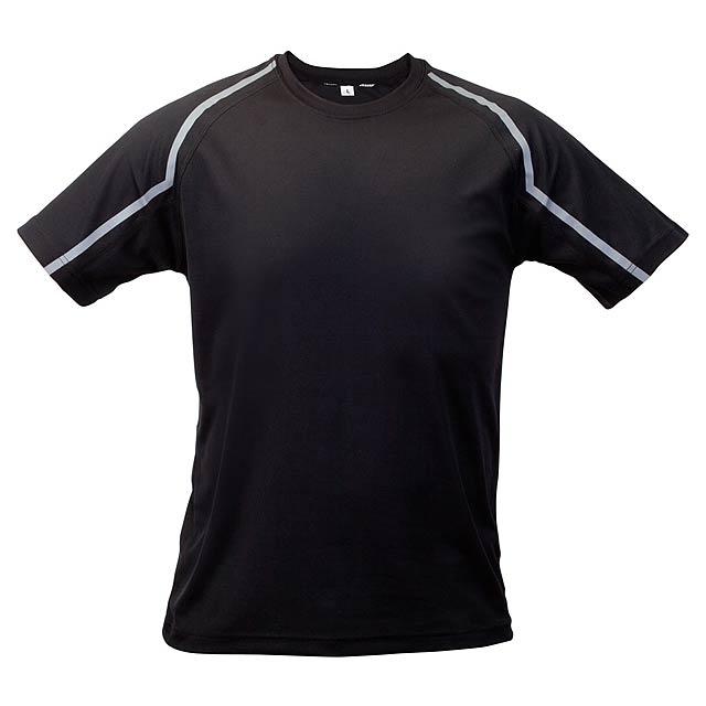 Fleser tričko - černá