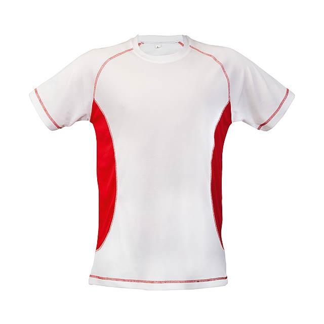 Combi tričko - červená
