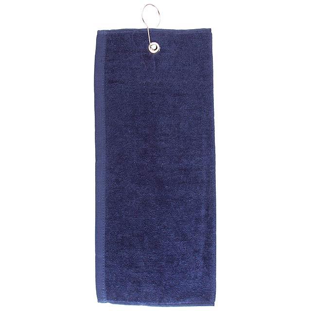 Tarkyl golfový ručník - modrá