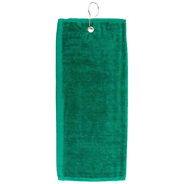 Tarkyl golfový ručník - zelená