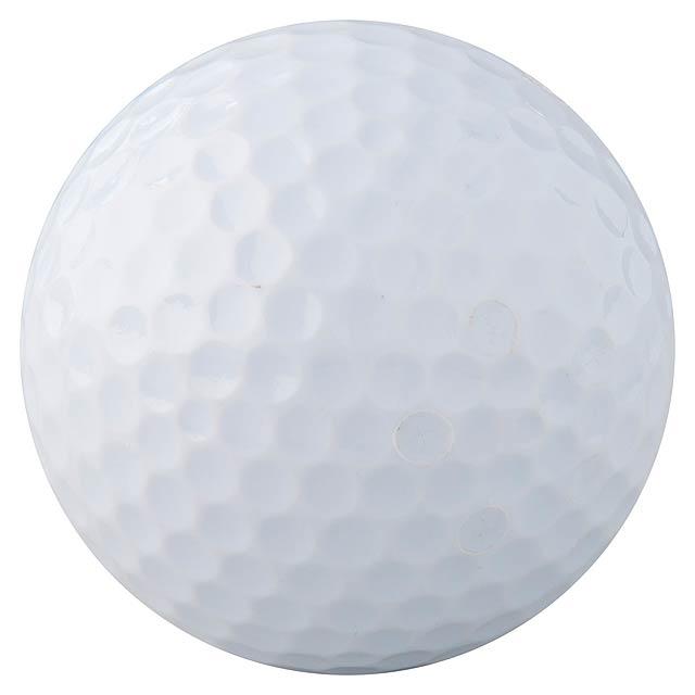 Nessa golfový míček - bílá