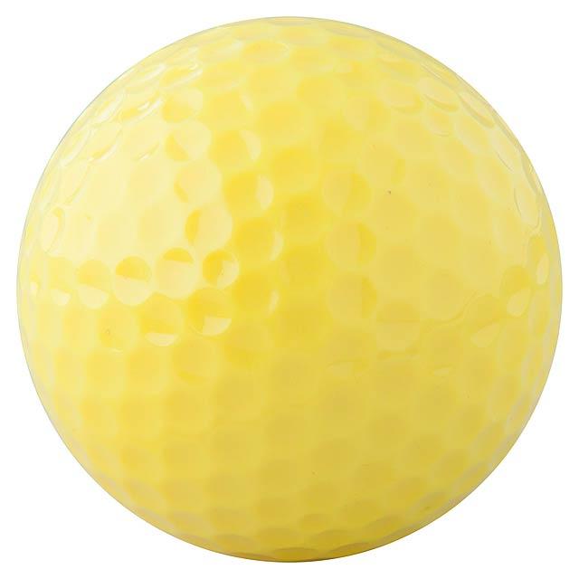 Nessa golfový míček - žlutá