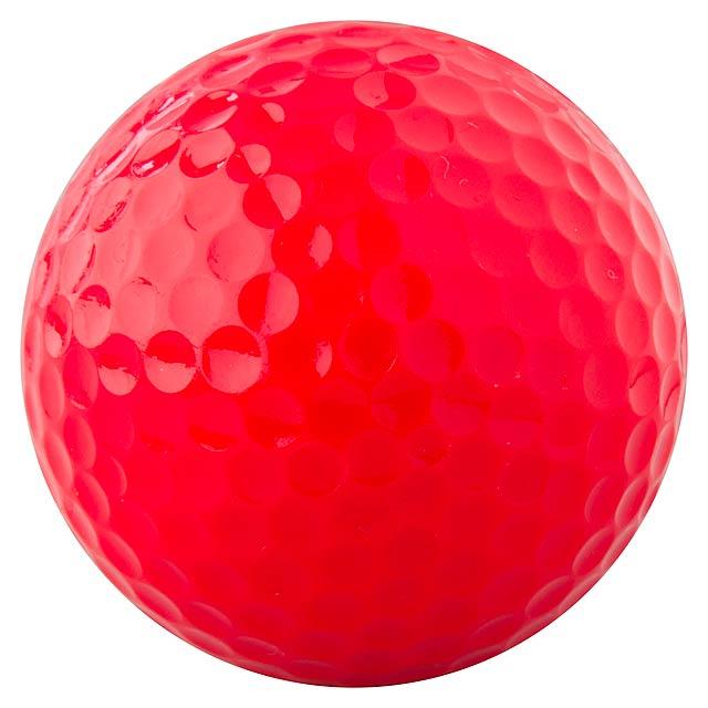 Nessa golfový míček - červená
