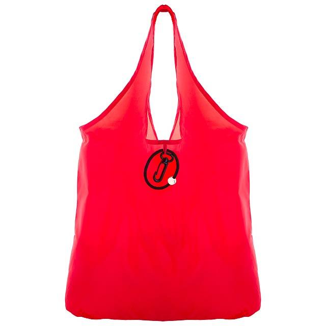 Persey skládací nákupní taška - červená