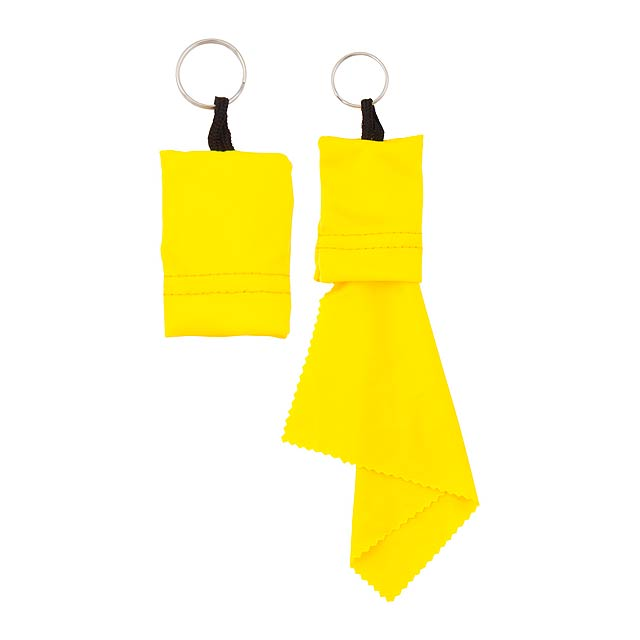 Yindax čistící hadřík - žlutá