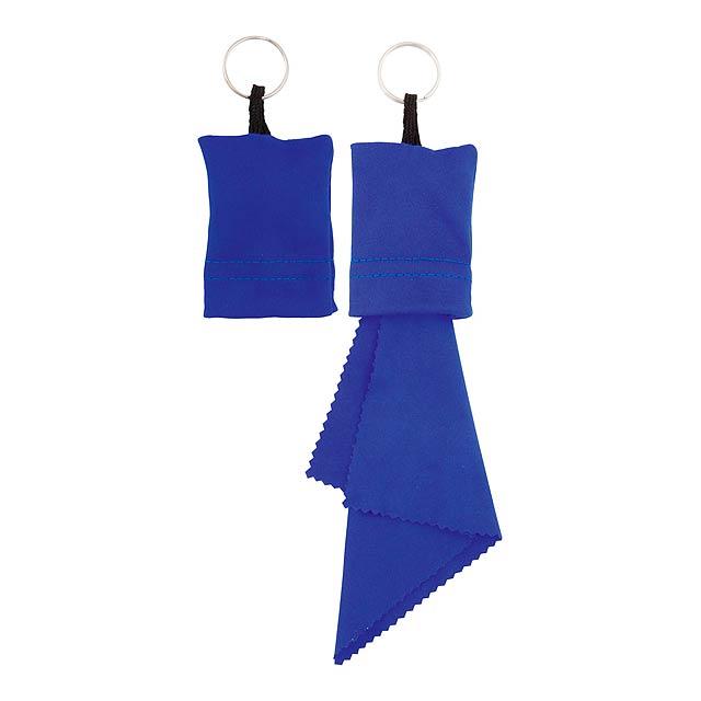 Yindax čistící hadřík - modrá