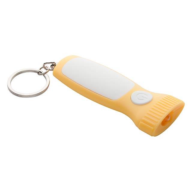 Scam mini baterka - žltá