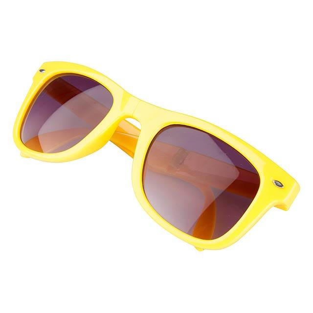 Stifel skládací sluneční brýle - žlutá