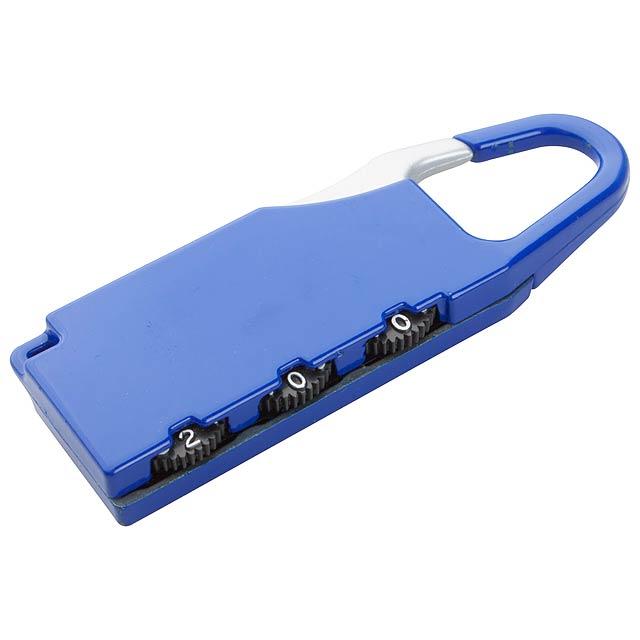 Zanex zámek na zavazadlo - modrá