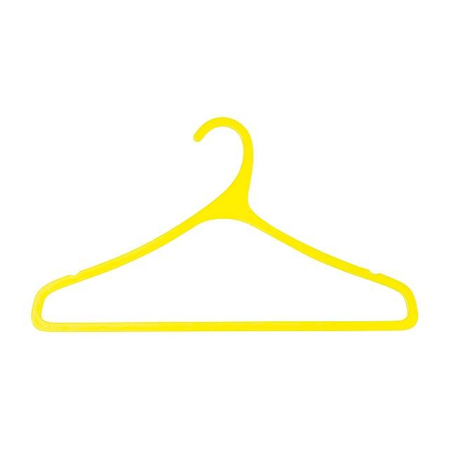 Merchel věšák - žlutá